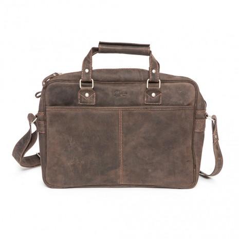 Bolso maletín unisex asa de...